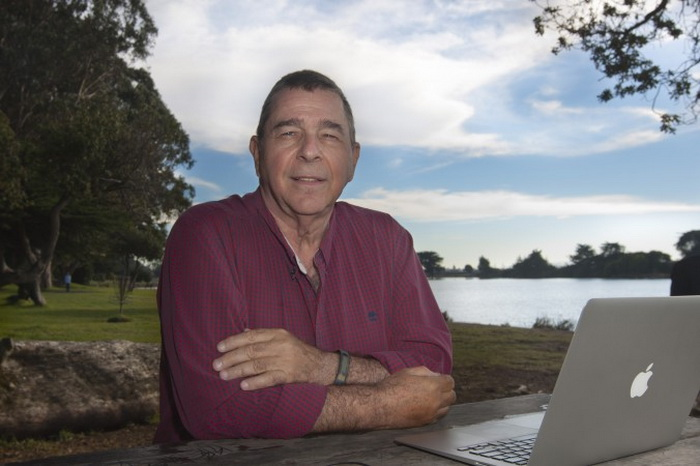 Журналист Пол Муни в Беркли, Калифорния, 13 ноября 2013 года. Фото: МА Yozhi/Epoch Times
