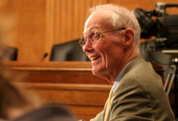 Слейд Гортон — бывший сенатор США от штата Вашингтон и член Комиссии по краже американской интеллектуальной собственности, 25 июня, Вашингтон. Фото: Gary Feuerberg/Epoch Times