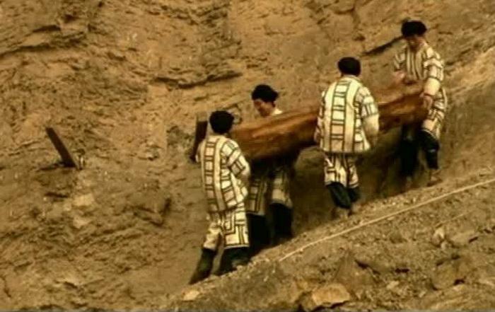 Восстановленная одежда племени Бо Фото: kinozon.tv