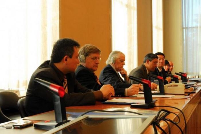 В Совете ООН в ходе 10-й сессии по правам человека обсуждают ситуацию в Китае, Женева, 2009 год. Фото: The Epoch Times