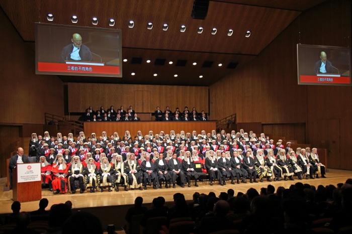 Церемония открытия юридического года, 13 января 2014 года. Фото: Epoch Times