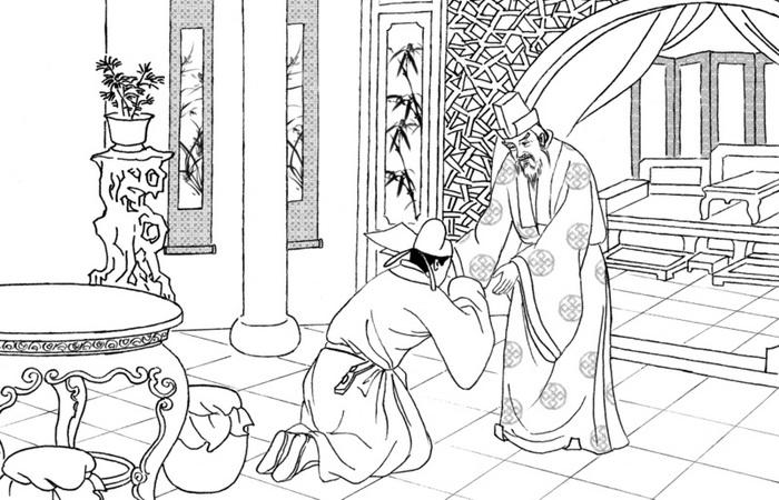 Чжан обладал культурой поведения, был вежлив и сдержан. Своей семьёй управлял по нормам «терпения и уважения к старшим». Иллюстрация: Великая Эпоха (The Epoch Times)