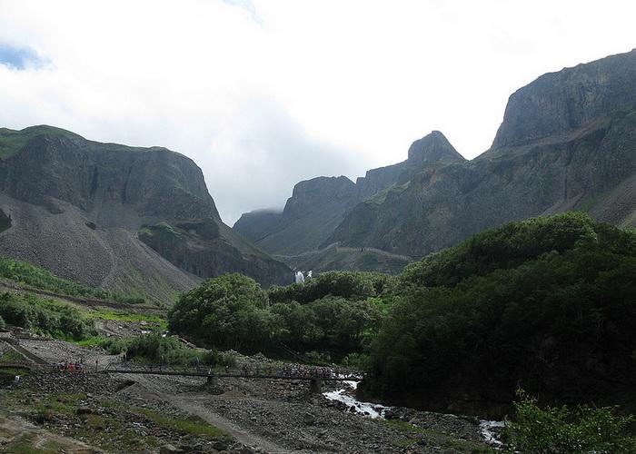 Горы Чанбайшань на северо-востоке Китая, провинция Цзилинь. Фото: Caitriana Nicholson/flickr.com