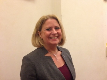 Элизабет Бьёнрсдоттир-Рам, организатор семинара в парламенте Швеции, заявила: «Мероприятие вызвало большой интерес». С её точки зрения, это хорошее начало для формирования общественного мнения. Фото: Pirjo Svensson /The Epoch Times