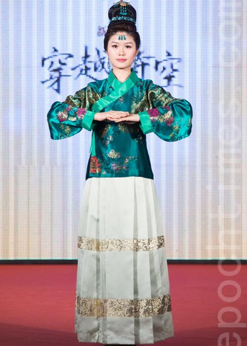 Лю Цзяньюй из коммерческого института заняла третье место. Фото: Чэнь Байчжоу/Великая Эпоха (The Epoch Times)