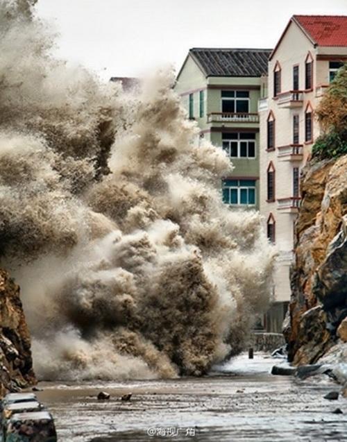Китай. Тайфун «Фитоу». Октябрь 2013 года. Фото: epochtimes.com