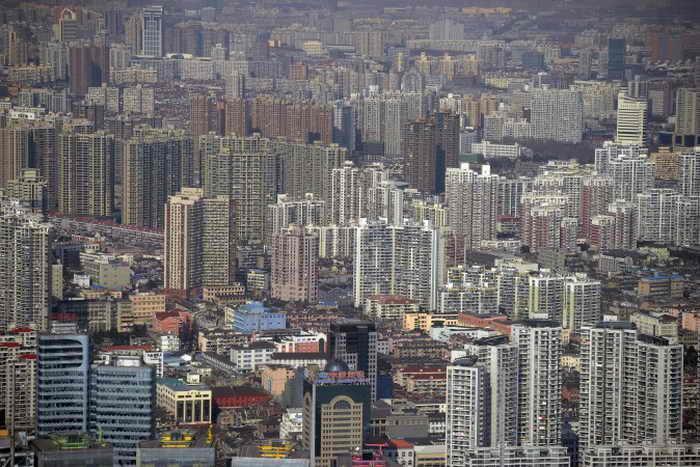Финансовый район Пудун в Шанхае, Китай, 17 января 2011 года. Фото: Peter Parks/AFP/Getty Images