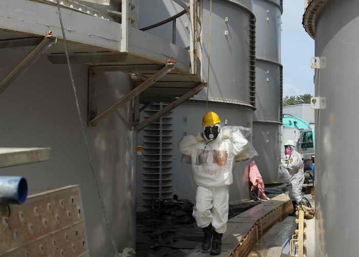 На АЭС «Фокусима-1» разработана система искусственной вечной мерзлоты. Фото: JAPAN POOL/AFP/Getty Images