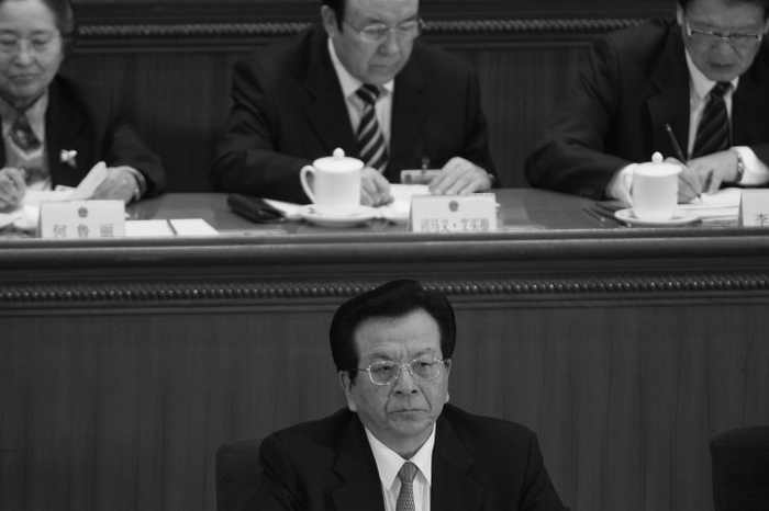 Цзэн Цинхун на IV пленарном заседании Всекитайского собрания народных представителей в марте 2007 года в Пекине, Китай. Цзэн, возможно, станет следующей мишенью для проверки на предмет коррупции. Фото: Andrew Wong/Getty Images