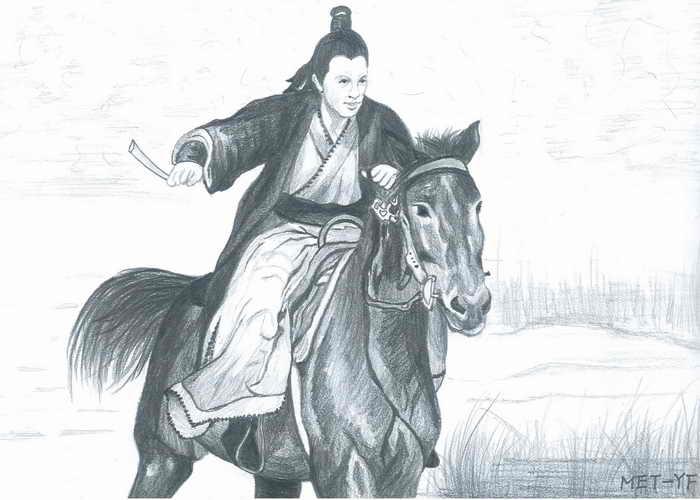 Погонять рысака плетью. Иллюстрация: Yeuan Fang/Великая Эпоха (The Epoch Times)