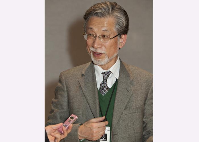Известный хормейстер Юичи Хасунума посетил третий концерт Shen Yun в Токио 31 января 2014 г. Фото: Wu Lili/ Epoch Times