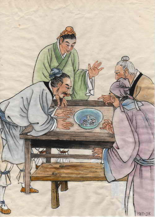 Чжан Цзэдуань и его работа «По реке в день поминовения усопших» времён династии Сун. Иллюстрация: Jane Ku/Великая Эпоха (The Epoch Times)