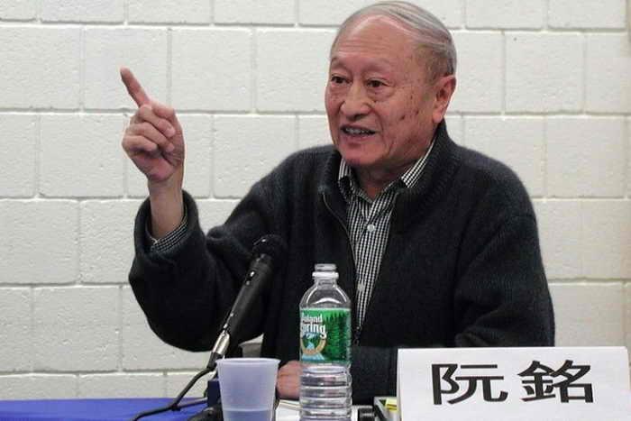 Жуань Мин — спичрайтер и советник бывшего генсека компартии Китая Ху Яобана. Фото: Epoch Times