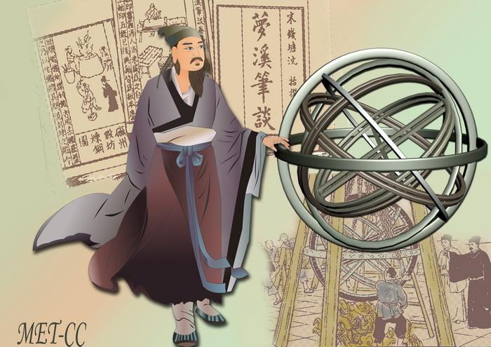 Шэнь Ко — один из величайших учёных в истории Китая. Иллюстрация: Catherine Chang/Великая Эпоха (The Epoch Times)