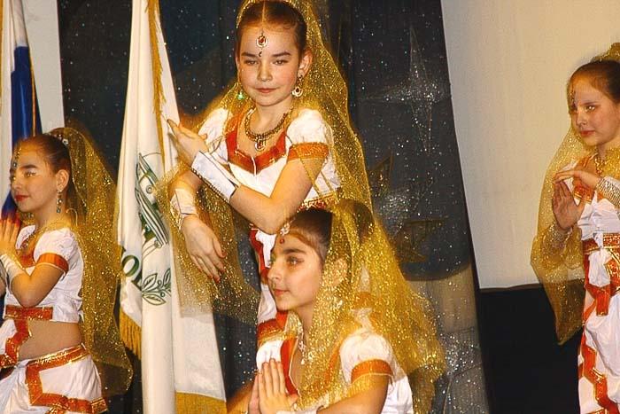 Индийский танец в исполнении детского творческого коллектива. Фото: Ульяна Ким/Великая Эпоха (The Epoch Times)