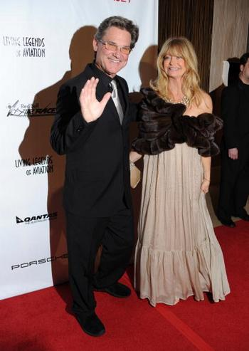 Курт Рассел и Голди Хоун. Фото: Frazer Harrison/Getty Images