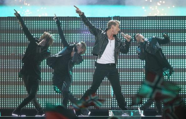 Алексей Воробьёв  на «Евровидении-2011»  занял 16-е место.  Фото: Sean Gallup/Getty Images
