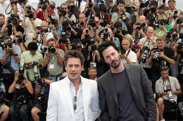 Киану Ривз  и Роберт Дауни младшийФото: Kevin Winter/Getty Images