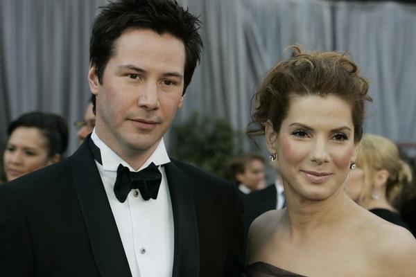 Киану Ривз и Сандра Буллок.  Фото: Kevin Winter/Getty Images