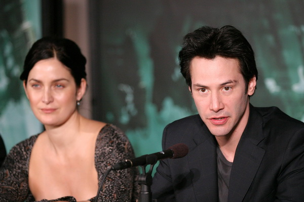 Киану Ривз с Кейт-Энн Мосс Фото: Kevin Winter/Getty Images