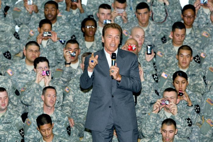 Арнольд Шварценеггер: незабываемые моменты в жизни. Фоторепортаж. Фото: Getty Images