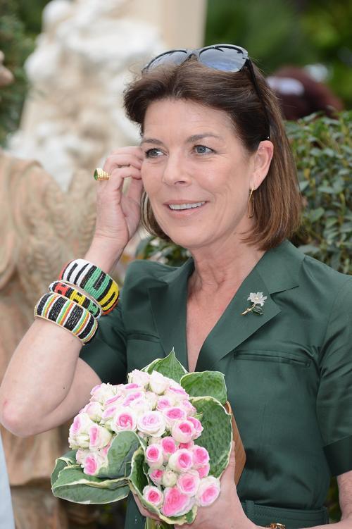 В открытие конкурса цветов Concours de Bouquets в Монако приняла участие принцесса Монако Каролина Ганноверская (Caroline of Hanover). Фоторепортаж. Фото: Pascal Le Segretain/Getty Images