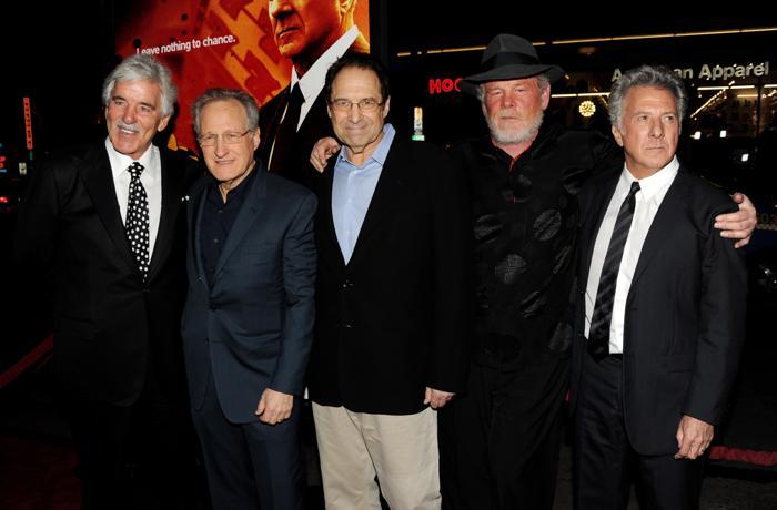 Дастин  Хоффман  в кино и в жизни. Фото: Getty Images