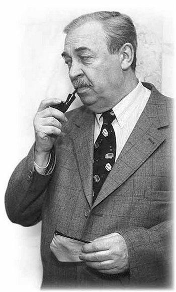 Писатель и сценарист Эдуард Хруцкий. Фото с сайта fotki.yandex.ru
