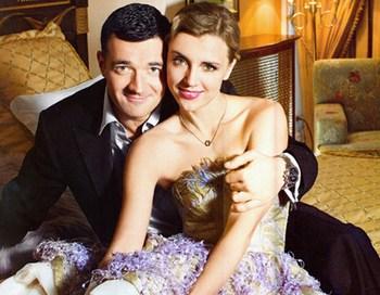 Ксения Алферова готовится второй раз стать мамой. Ксения Алферова и Егор Бероев. Фото с сайта spletnik.ru