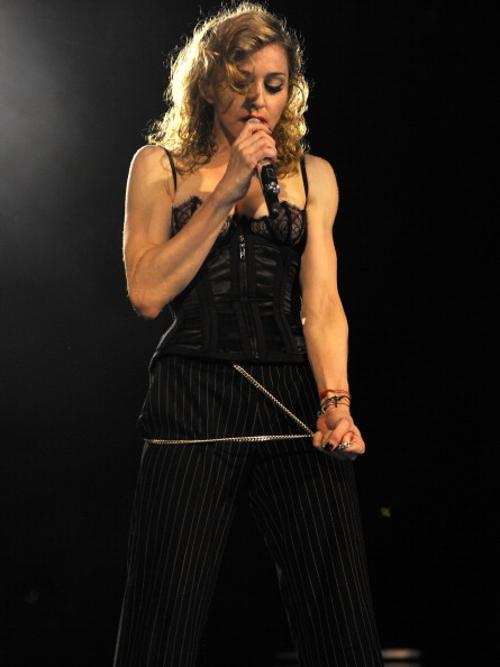 Мадонна выступила в Гайд-парке  в Лондоне. Фоторепортаж. Фото: Kevin Mazur/WireImage