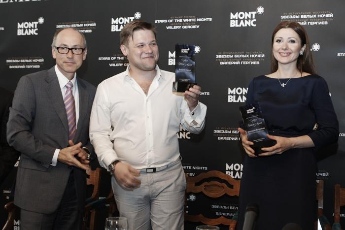 На церемонии вручения премий «Новые голоса Montblanc». Фоторепортаж. Фото: Oleg Nikishin/Getty Images for Montblanc