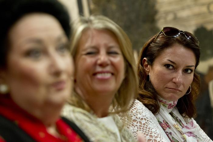 Монтсеррат Кабалье на пресс-конференции в Марбелье. Фоторепортаж. Фото: Daniel Perez/Getty Images