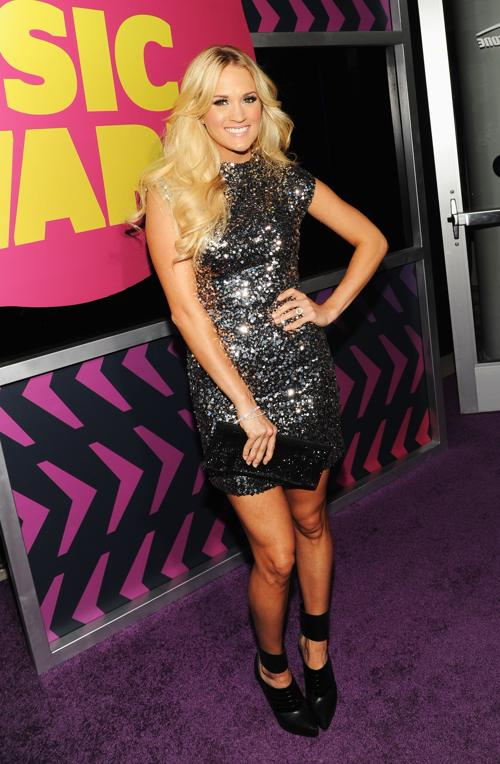Участники CMT Music awards. Кэрри Андервуд (Carrie Underwood). Фоторепортаж из  Нэшвилла. Фото: Rick Diamond/Getty Images for CMT