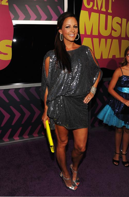 Участники CMT Music awards. Sara Evans. Фоторепортаж из  Нэшвилла. Фото: Rick Diamond/Getty Images for CMT
