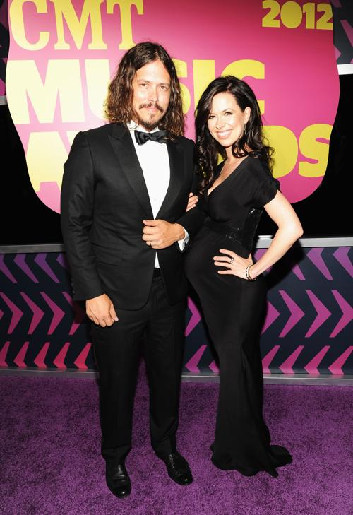 Участники CMT Music awards. John Paul White; Joy Williams. Фоторепортаж из  Нэшвилла. Фото: Rick Diamond/Getty Images for CMT