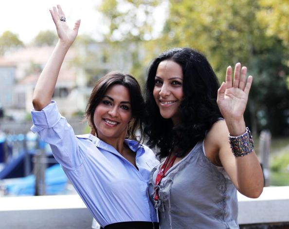 На 67-м Венецианском кинофестивале. Актрисы Ясмин Эльмасри и Руба Блал (Yasmine Al Masri; Ruba Blal). Фоторепортаж. Фото: Gareth Cattermole/Andreas Rentz/ Pascal Le Segretain/Getty Images