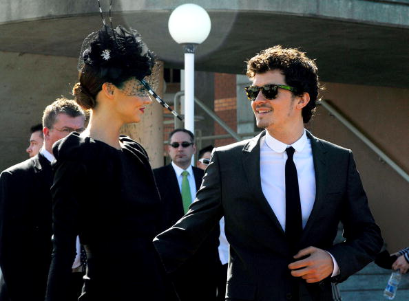 Орландо Блум и Миранда Керр в Сиднее  (Австралия) в  2008 году. Фото: Ruth Schwarzenholz/Getty Images