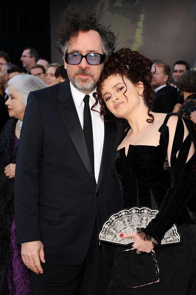 83-я церемония вручения призов Киноакадемии США «Оскар». Хелена Бонем Картер и Тим Бертон. Фото: Jason Merritt/Getty Images