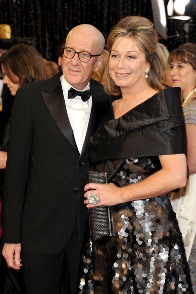 83-я церемония вручения призов Киноакадемии США «Оскар». Джеффри Раш с супругой Джейн Менелос. Фото: John Shearer/Getty Images