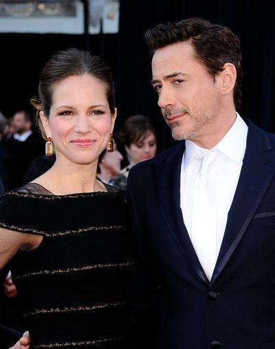 83-я церемония вручения призов Киноакадемии США «Оскар». Роберт Дауни мл. с супругой Сюзен Дауни. Фото: Kevork Djansezian/Getty Images