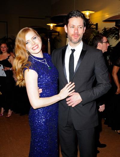83-я церемония вручения призов Киноакадемии США «Оскар». Эми Адамс с супругом Дарреном Легалло. Фото: Kevork Djansezian/Getty Images