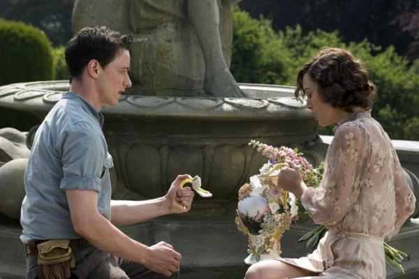 Кира Найтли и Джеймс МакЭвой в фильме «Искупление». Фото с сайта ma-lin-a.livejournal.com