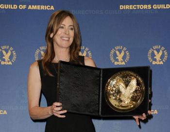 Кэтрин Бигилоу на 62-й ежегодной церемонии вручения наград гильдии Кинорежиссеров США в Калифорнии. Фото: Frazer Harrison/Getty Images