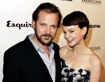 Актеры Питер Сарсгаард и Кери Маллиган на премьере фильма «Воспитание чувств» в Лос-Анджелесе. Фото: Kevin Winter/Getty Images