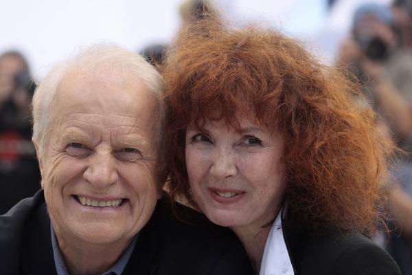 «Дикие травы». Сабин Азема и Андре Дюссолье на кинофестивале в Каннах. Фото: FRANCOIS GUILLOT/AFP/Getty Images