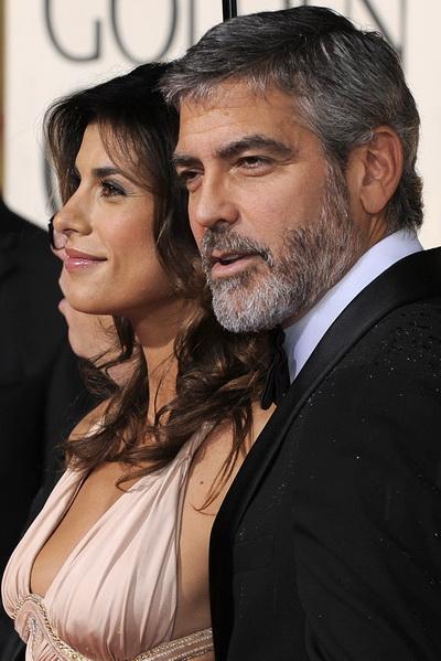 67 ежегодная церемония вручения «Золотого глобуса» в Беверли-Хиллс, Калифорния. Джордж Клуни прибыл на мероприятие с Элизаббет Каналис. Фото: TIMOTHY A. CLARY/AFP/Getty Images