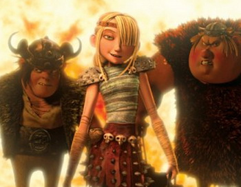 Кадр из фильма «Как приручить дракона». Фото с сайта femalefirst.co.ru