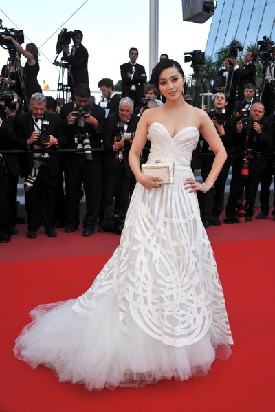 Китайская актриса Фань Бинбин . Фото:Pascal Le Segretain/Getty Images