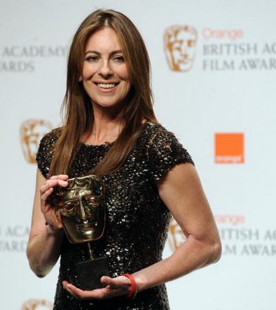 Церемония вручения наград Британской киноакадемии (BAFTA). Американская режиссер Кэтрин Бигилоу. Фото: BEN STANSALL/AFP/Getty Images