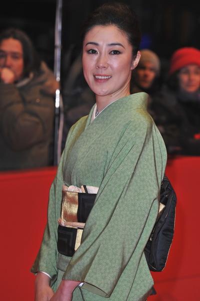 Актриса Шинобу Терадзима на 60-м Берлинском фестивале фильмов. Фото: Pascal Le Segretain/Getty Images